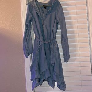 gap girls denim dress